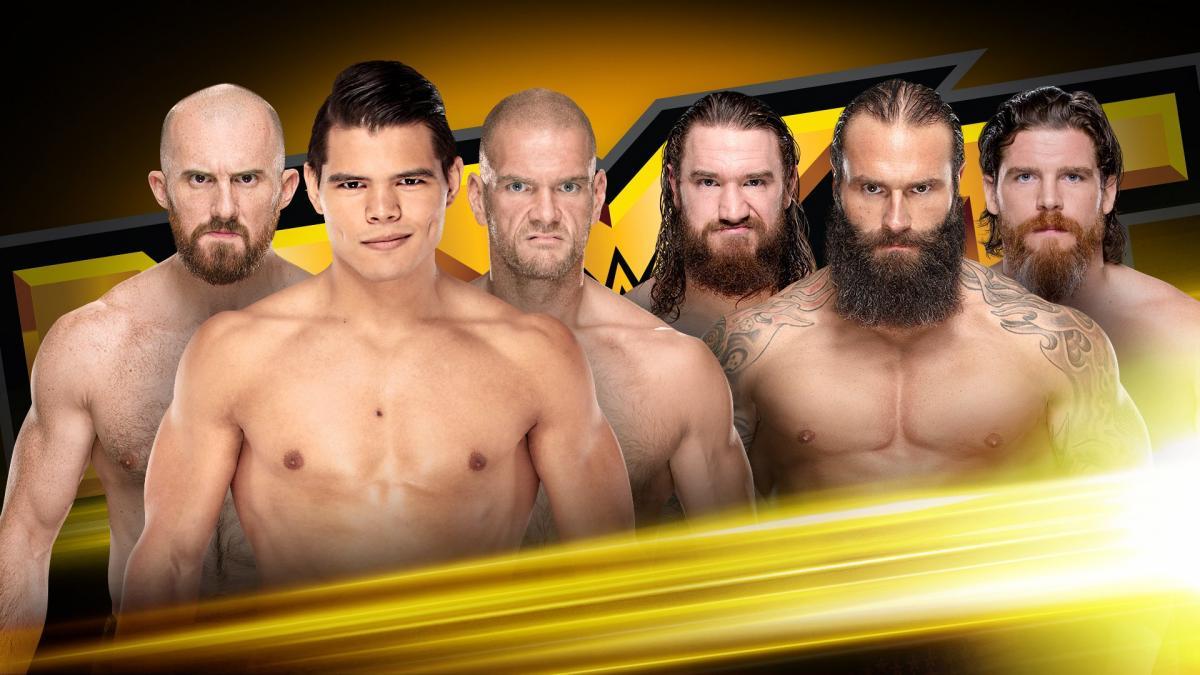 WWE NXT Resultados