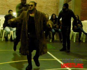 SAW-WAG: La Horda Infernal se robó la noche. Wrestling Colombiano
