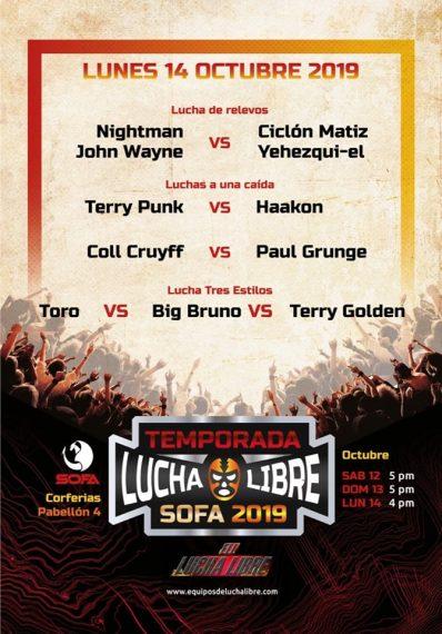 Equipos de Lucha Libre se toma el SOFA: wrestling colombiano