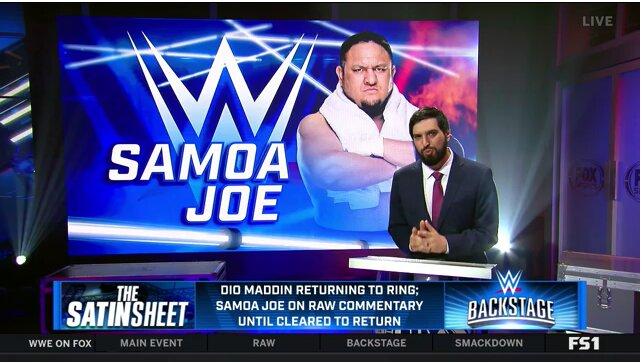 Dio Maddin no regresará al equipo de transmisión de RAW