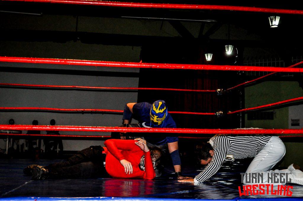 Terror Star gana el campeonato nacional SAW-WAG en el Juego del Terror