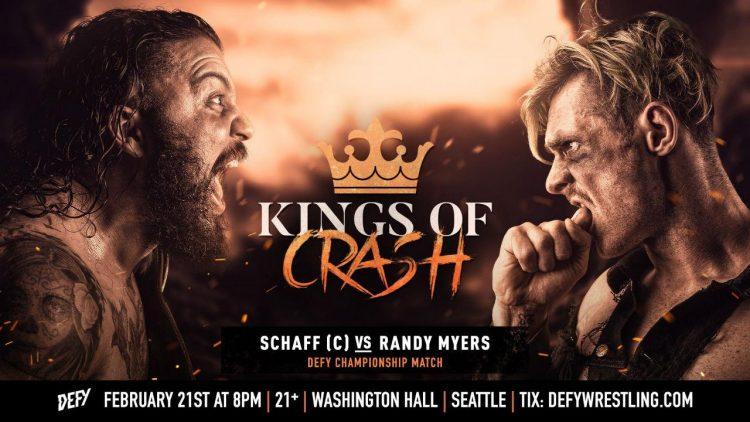 DEFY Wrestling Kings Of Crash
