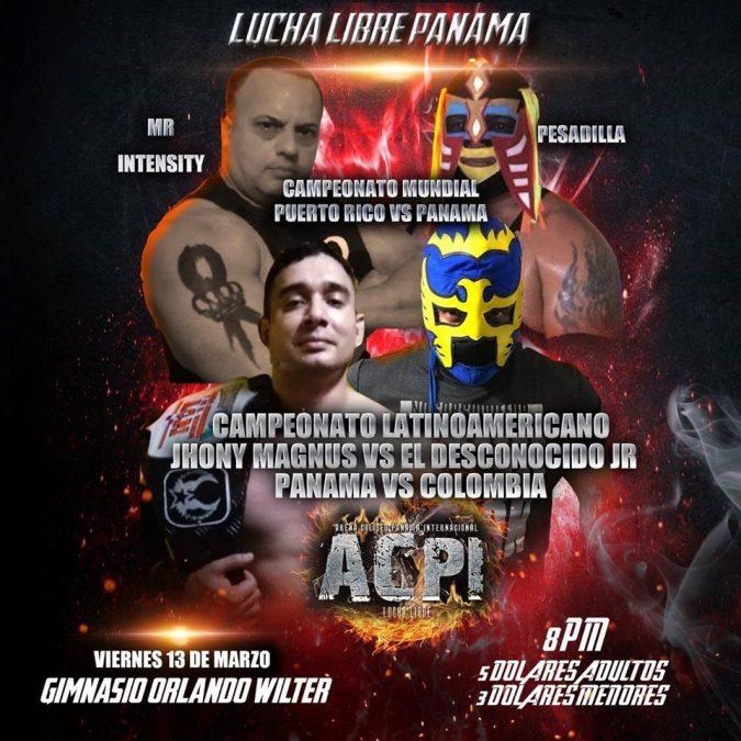 El Desconocido Jr va por el título Latinoamericano