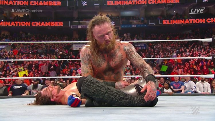 Aleister Black derrota a AJ Styles en WWE Elimination Chamber