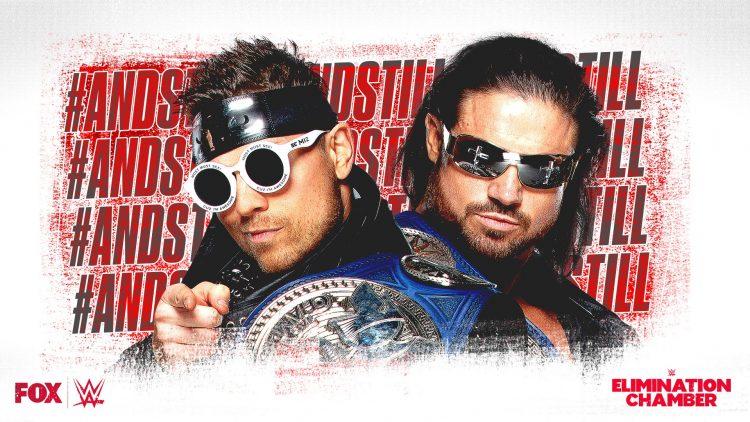 Miz Morrison Elimination Chamber Ladder Match WrestleMania 36