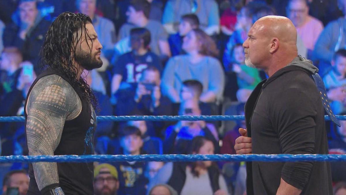 ▷ Goldberg dice que llevaba tiempo queriendo enfrentarse a Roman Reigns »  TurnHeelWrestling