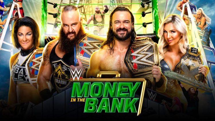 Cartelera Money in the Bank 2020