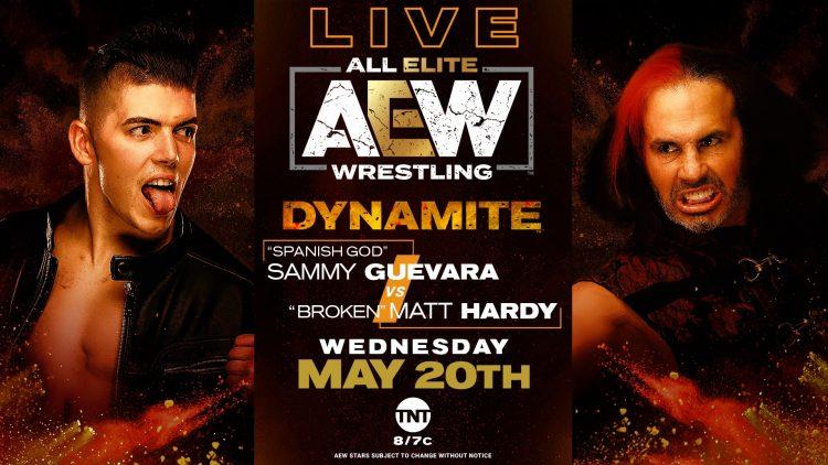 Dynamite 20 de mayo