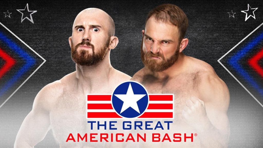 Previa WWE NXT The Great American Bash: 1 de julio de 2020