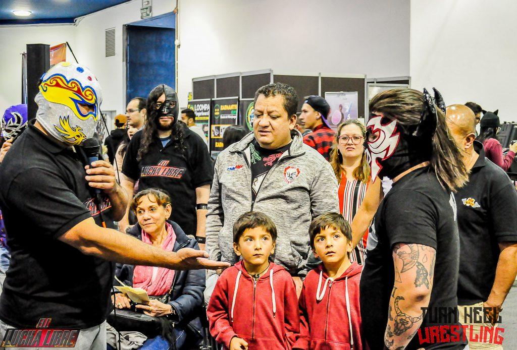 Turn Heel Wrestling entrevista al Toro - luchador colombiano