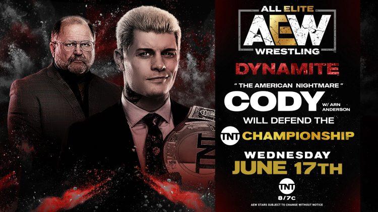 AEW Dynamite 17 de junio