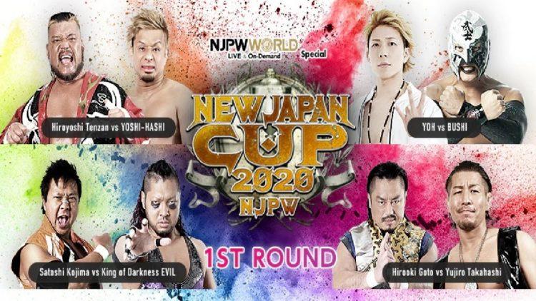 New Japan Cup Día 4