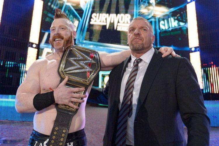 Sheamus Triple H