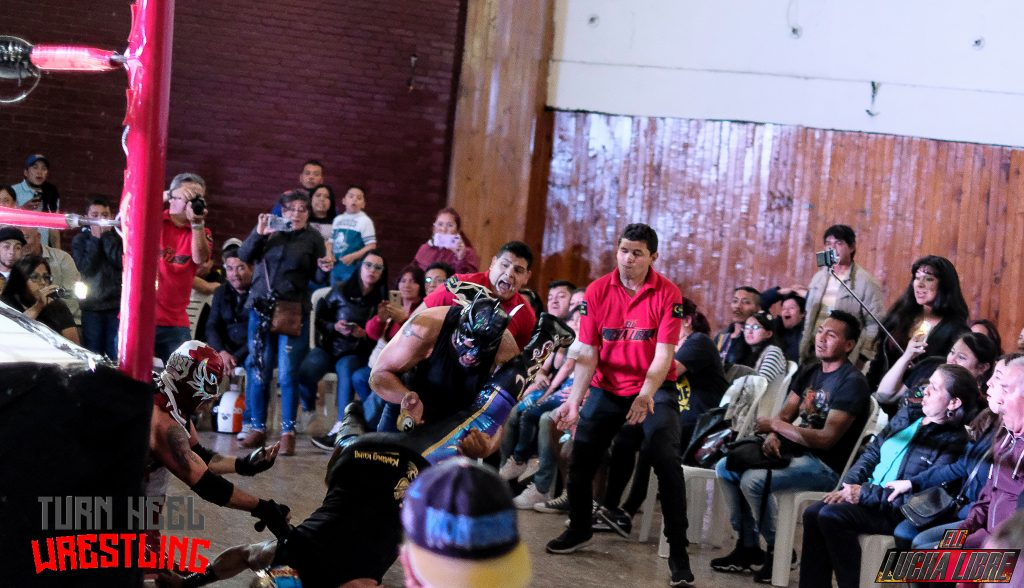 Turn Heel Wrestling entrevista a Kwang Kung - luchador colombiano