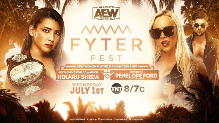 Resultados AEW Fyter Fest noche 1