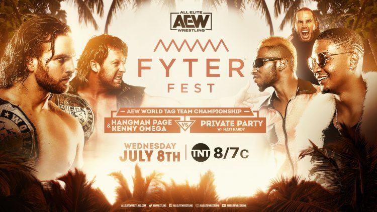 Resultados AEW Fyter Fest noche 2
