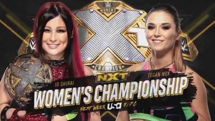 Io Shirai Tegan Nox NXT
