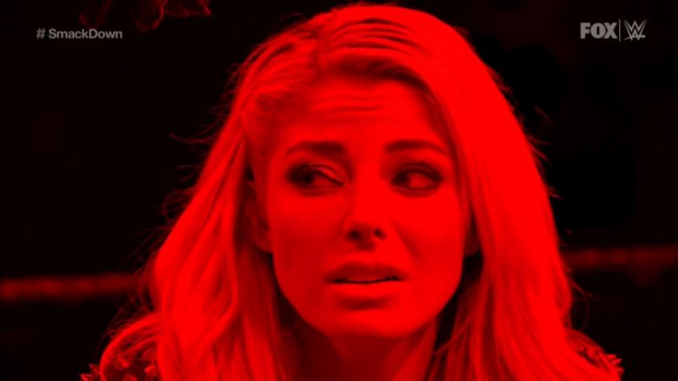 Bayley retiene y The Fiend ataca a Alexa Bliss