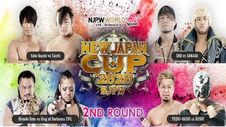 New Japan Cup día 6