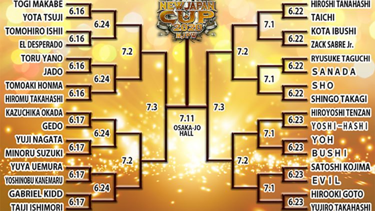 New Japan Cup día 7