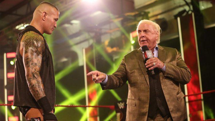 Ric Flair Randy Orton SummerSlam
