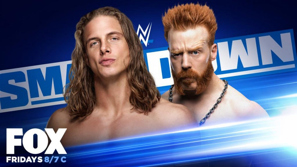 Previa WWE SmackDown 7 de agosto de 2020
