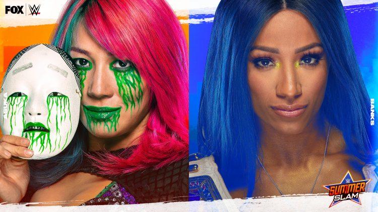 Sasha Banks defenderá el Campeonato Femenino de Raw ante Asuka en WWE SummerSlam 2020