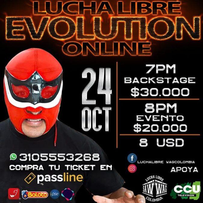 Savio Vega anuncia su presencia en el PPV EVOLUTION de SAW-WAG Colombia