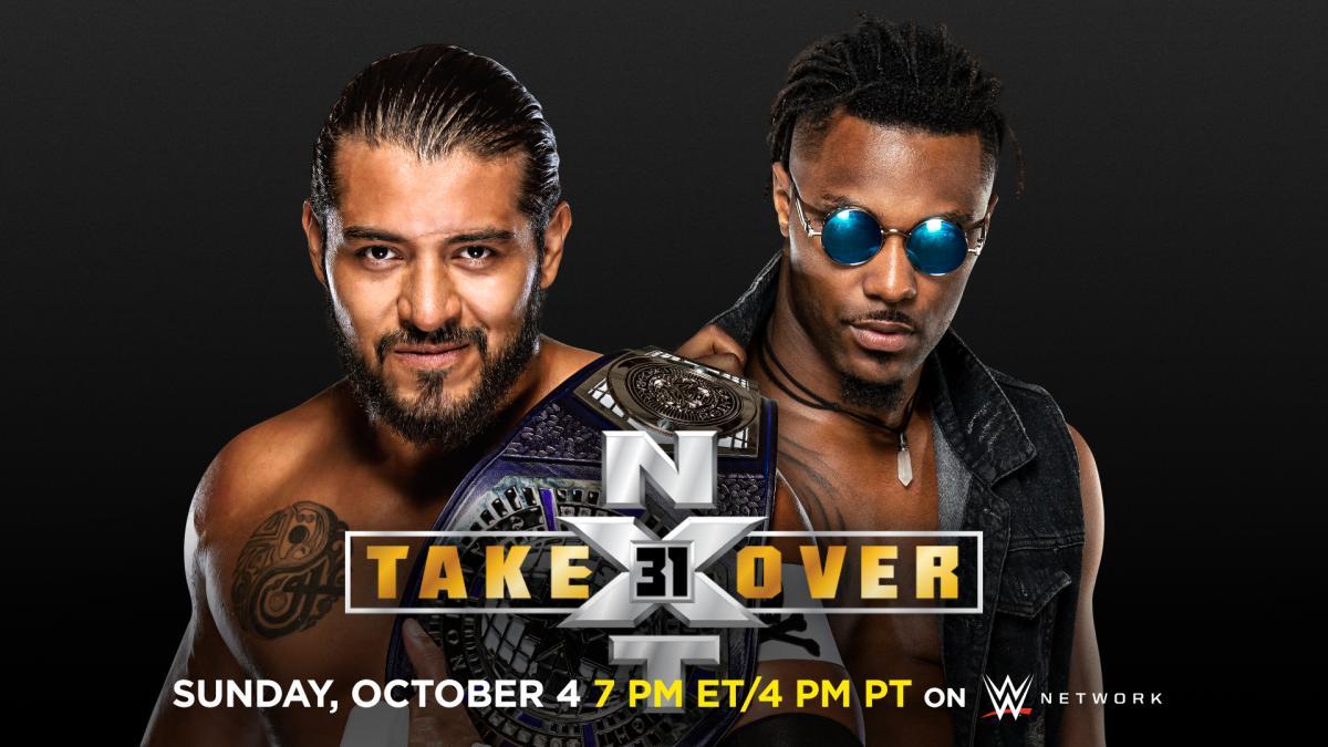 """▷ Santos Escobar defenderá el Campeonato Crucero de NXT contra Isaiah """"Swerve"""" Scott en NXT: TakeOver 31 • TurnHeelWrestling"""