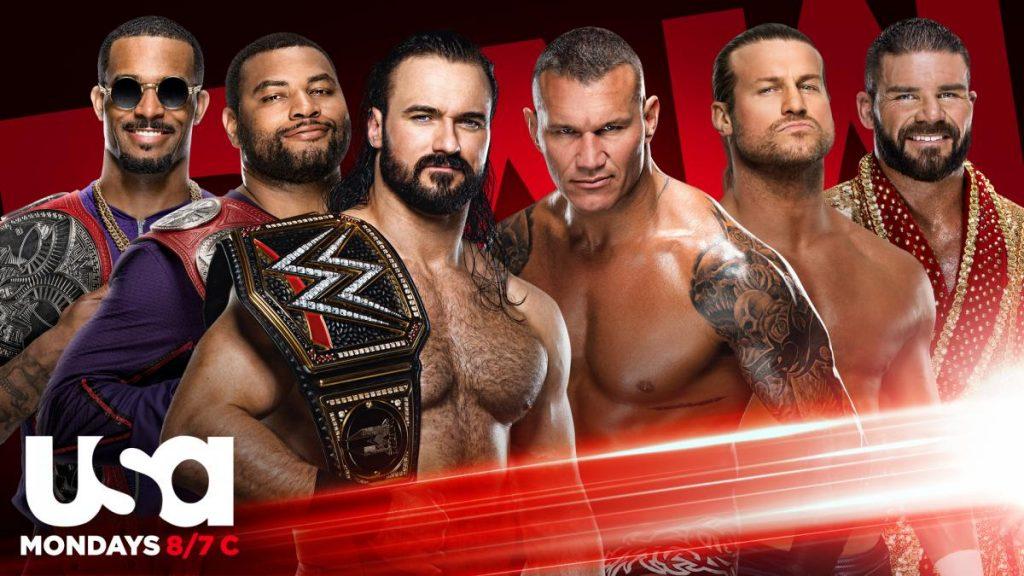 Previa WWE RAW 5 de octubre de 2020