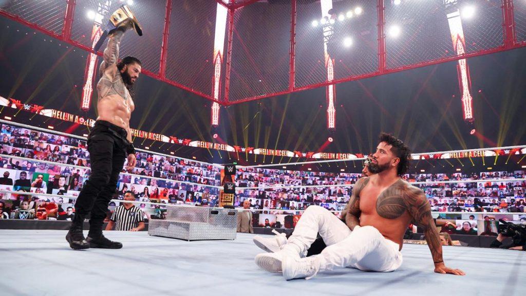Los protagonistas de WWE Hell in a Cell 2020