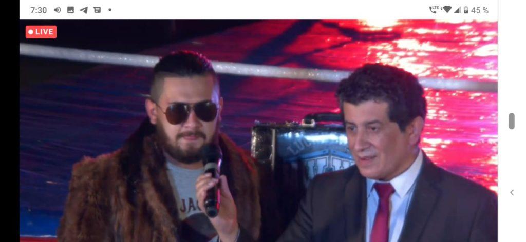 EVOLUTION ON LINE: lucha libre colombiana para el mundo