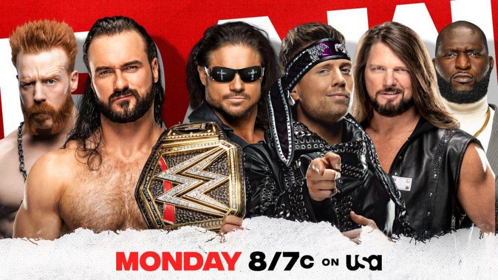 Previa WWE RAW 7 de diciembre de 2020