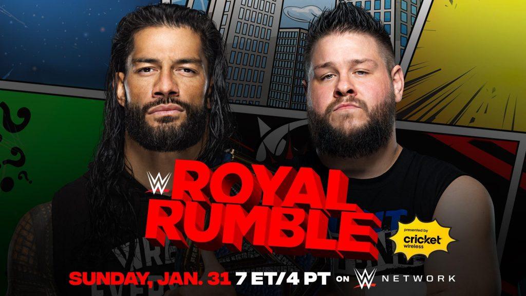 Kevin Owens se enfrentará a Roman Reigns en Royal Rumble 2021