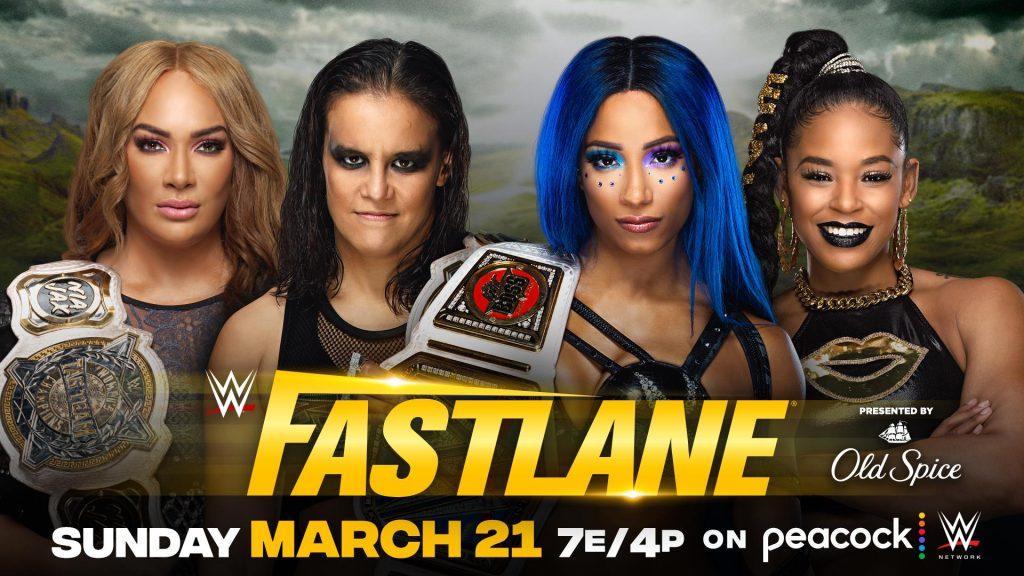 Shayna Baszler y Nia Jax defenderán sus títulos ante Sasha Banks y Bianca Belair en WWE Fastlane 2021