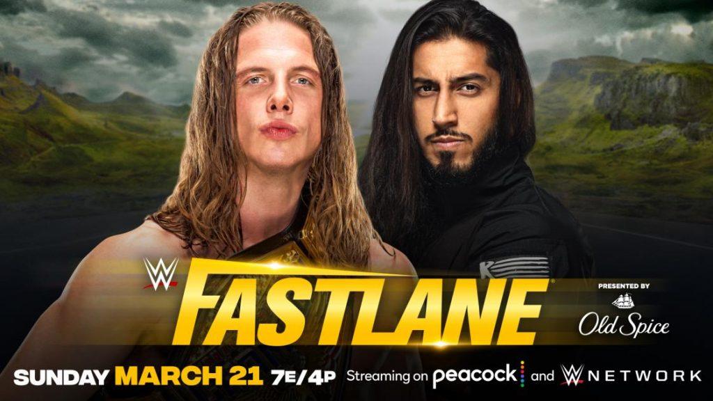 Riddle defenderá el Campeonato de Estados Unidos ante Mustafa Ali en WWE Fastlane 2021