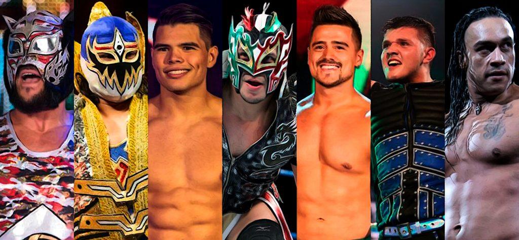 Candidatos a cara latina de WWE