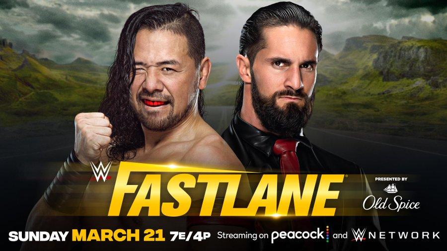 Seth Rollins se enfrentará a Shinsuke Nakamura en WWE Fastlane 2021
