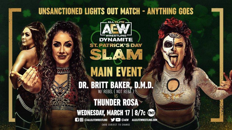 Spoilers AEW Dynamite St. Patrick's Day Slam