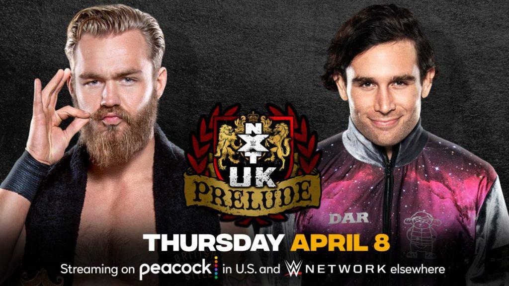 Previa WWE NXT UK Prelude 8 de abril de 2021