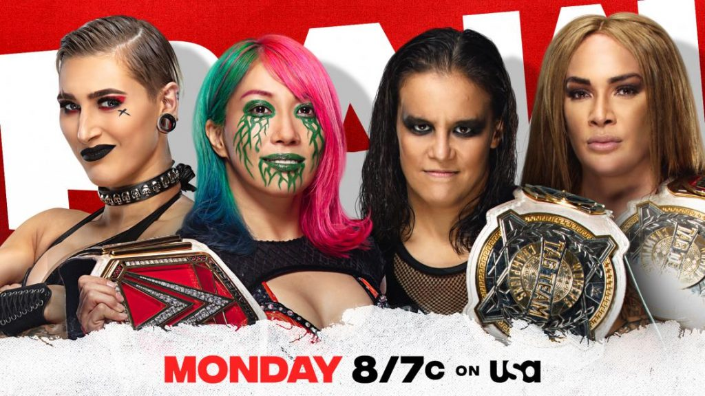 Previa WWE RAW 5 de abril de 2021