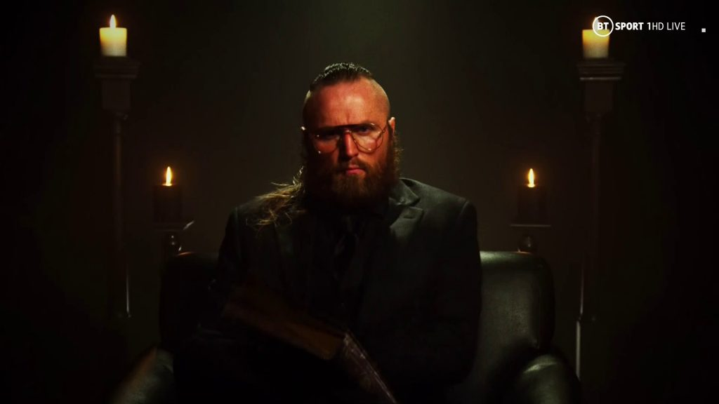 Aleister Black regresa en WWE SmackDown