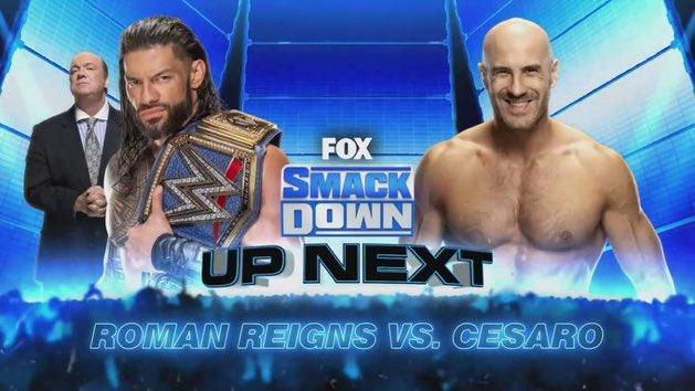 Roman Reigns volverá a pelear en SmackDown después de casi cuatro meses