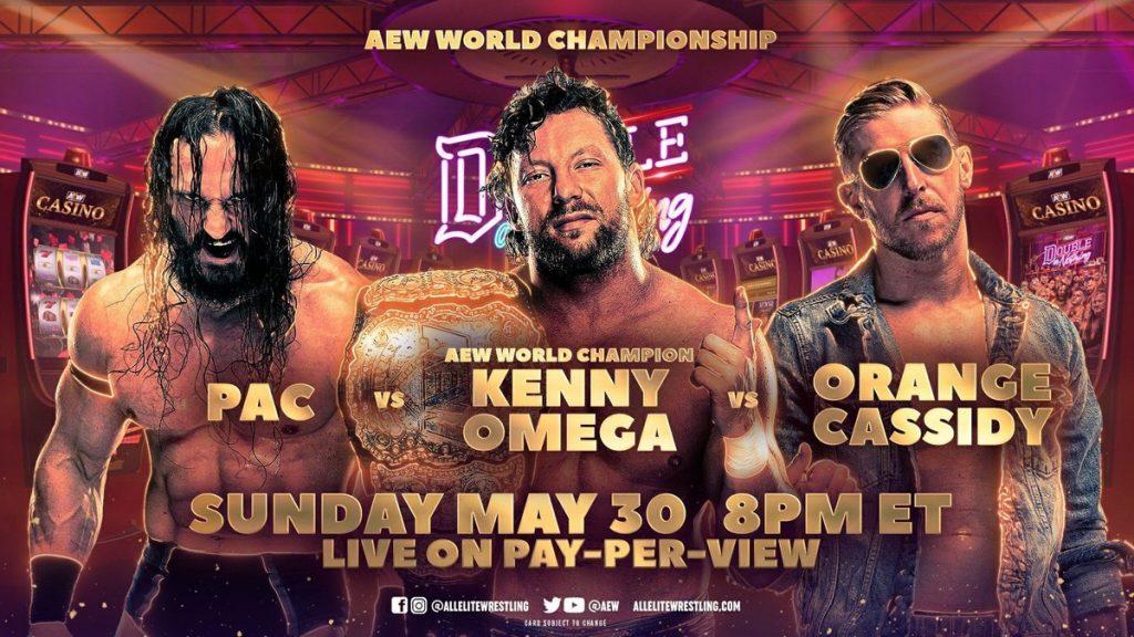 PAC, Cassidy y Omega por el título de AEW