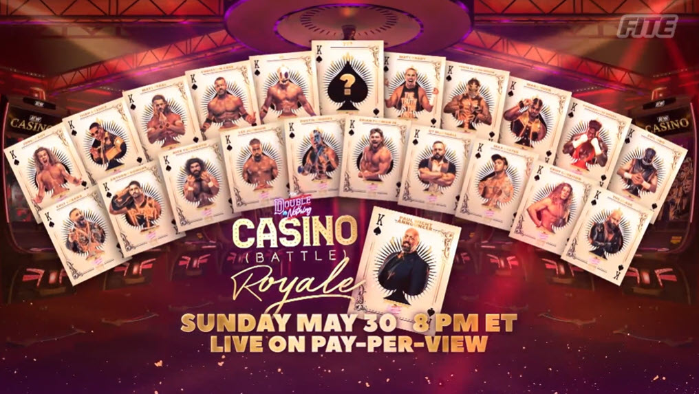 La Casino Battle Royale de AEW Double or Nothing 2021 contará con un participante sorpresa