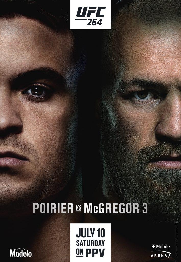 UFC revela el póster del Poirier vs. McGregor 3