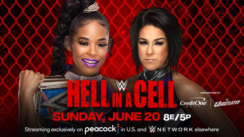 Bianca Belair se enfrentará a Bayley en Hell in a Cell 2021