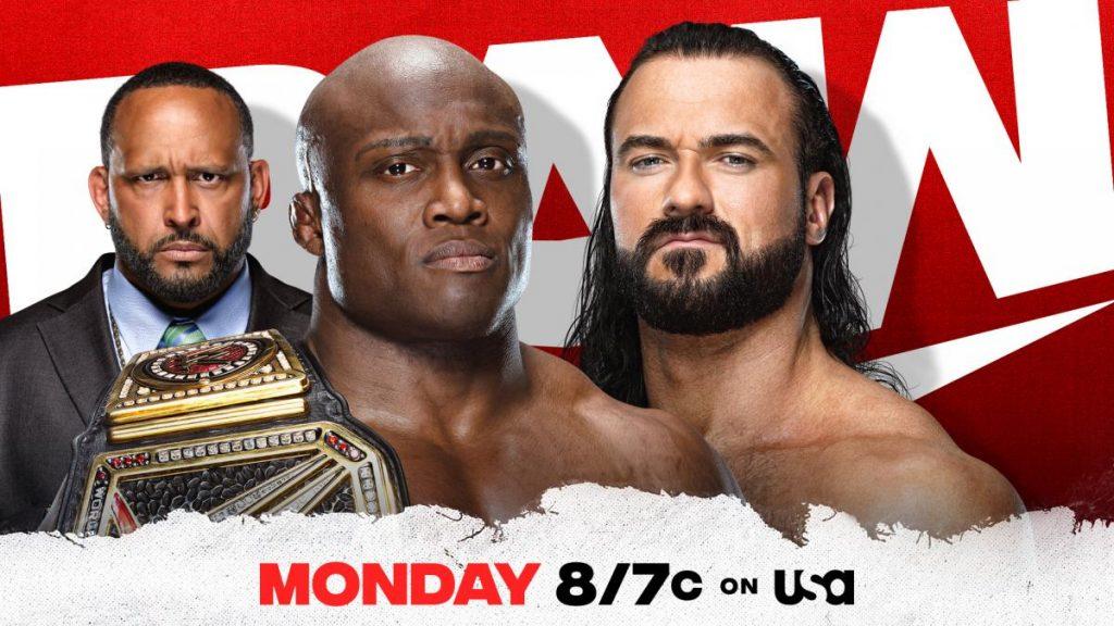 Previa WWE RAW 7 de junio de 2021