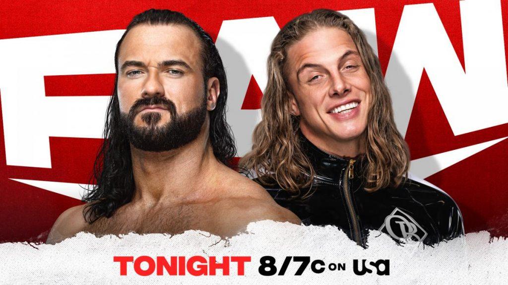 Previa WWE RAW 21 de junio de 2021
