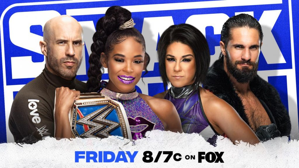 Previa WWE SmackDown 25 de junio de 2021